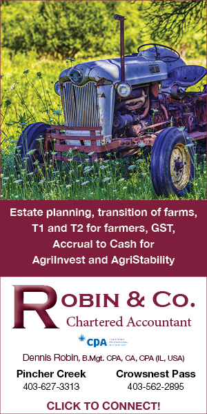 20210320 RobinCo Chartered Accountant Agricultural Services