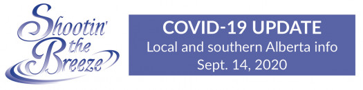New Covid-19 cases limited in Alberta's south zone