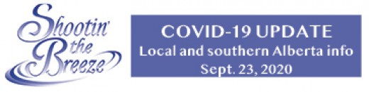 No new Covid-19 cases for Alberta's south zone today