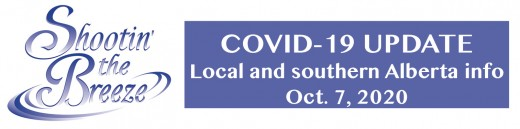 New south zone Covid-19 cases all in Lethbridge City and County