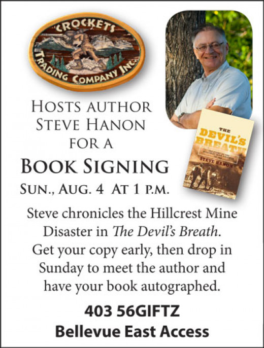 Author to share his passion for coal and Hillcrest history