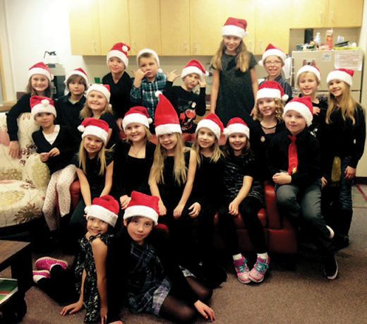 Christmas fun at Horace Allen and Isabelle Sellon Schools