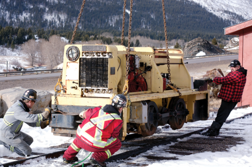 An old workhorse returns to Crowsnest Pass