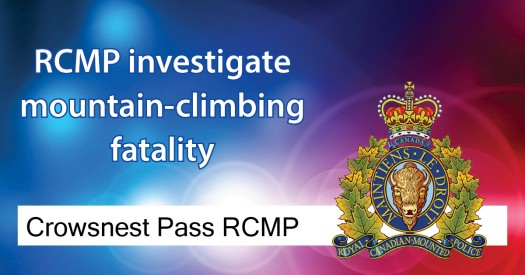 Crowsnest Pass RCMP investigate mountain-climbing fatality