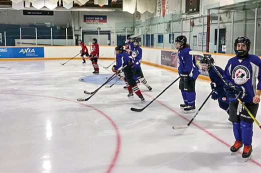 Hockey program helping with more than on-ice development