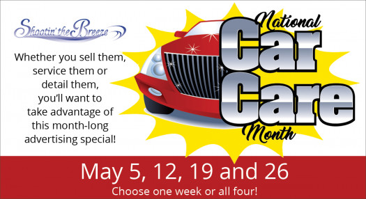 May is Car Care Month