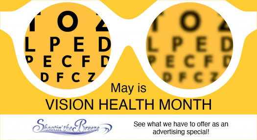 May is Vision Health Month