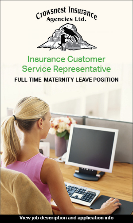 Customer service rep required by Crowsnest Insurance