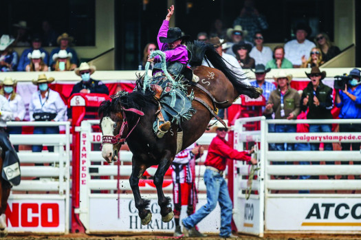 Local cowboy takes second at Calgary Stampede
