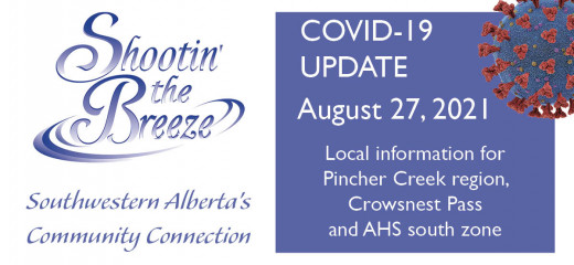 August 27 south zone Covid-19 update