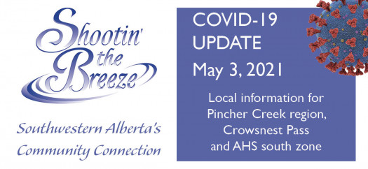 May 3 Covid-19 update