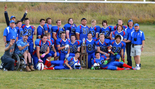 Mustangs win B Division championship - way to go guys!
