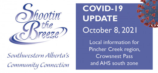 Oct. 8 south-zone Covid update