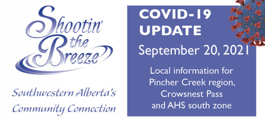 Sept. 20 south-zone Covid-19 update