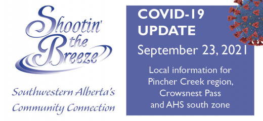 Sept. 23 south-zone Covid update