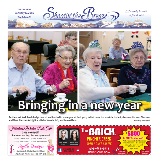Check out this week's issue of Shootin' the Breeze!